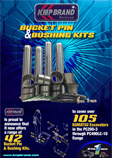 bucket pin and bushing kit for komatsu excavators