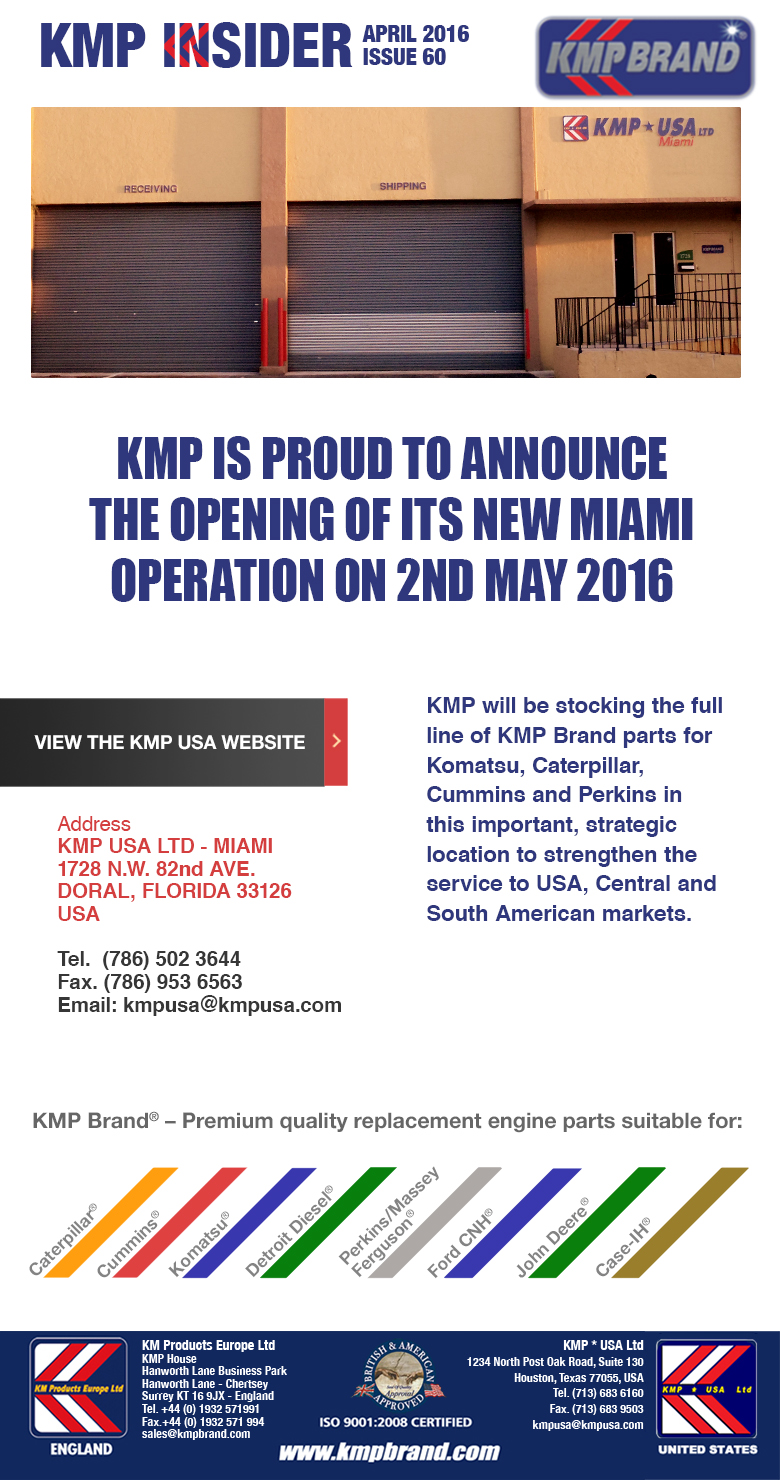 New Miami Operation Opening 2nd May 2016